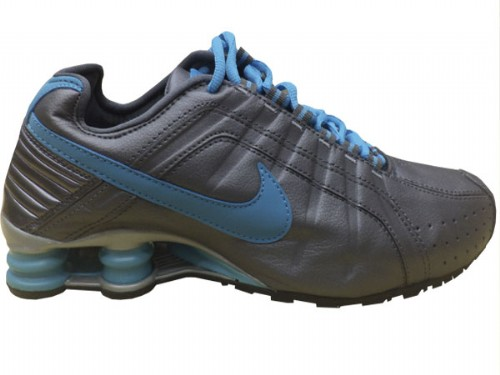 Nike Shox Junior Chumbo e Azul  - ACKIMPORTS