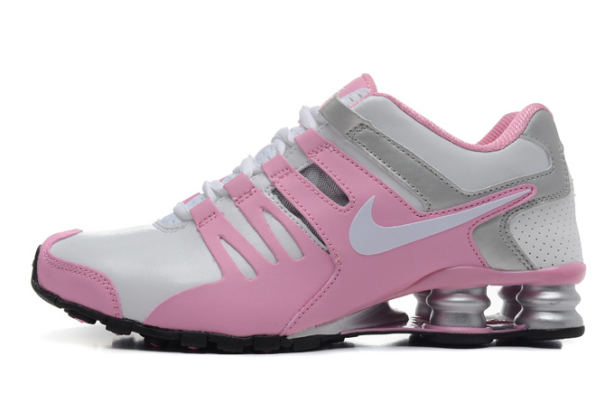 ef50b036e6 Tênis Nike Shox Current Rosa e Prata - ackimports-Tenis Importado de ...
