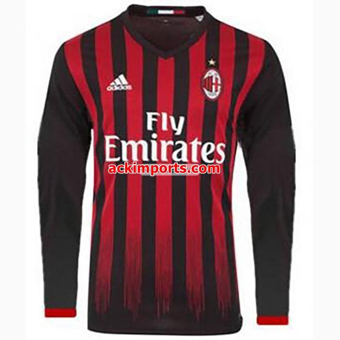 Camisa Milan Manga Longa 2016 2017 Camisas Milan Camisa Milan Masculina Agaimportados Tenis Importado De Varias Marcas Em Ate 4x S Juros