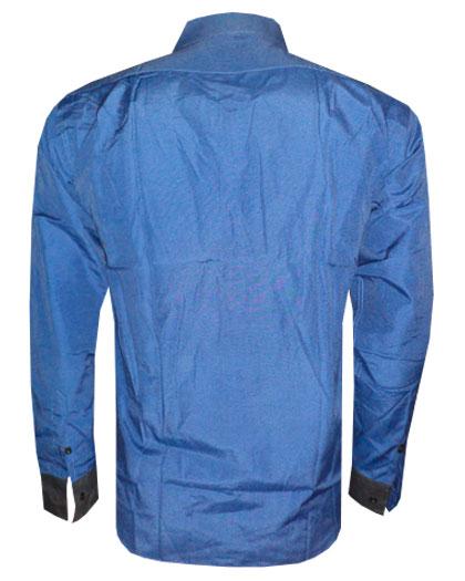 Camisa social Armani Azul Marinho e Preta GA63  - ACKIMPORTS