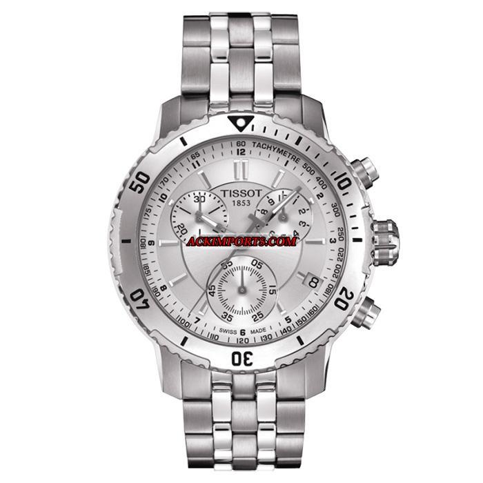 Relógio Masculino Tissot PRS 200 T067 - Prata  - ACKIMPORTS