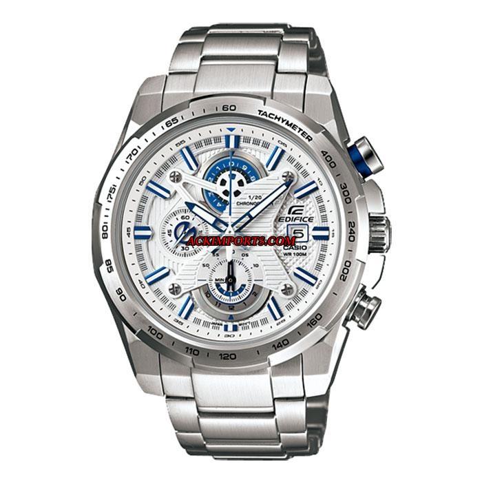 Relógio Masculino Casio Edifice EFR-523D-7AV - Branco  - ACKIMPORTS