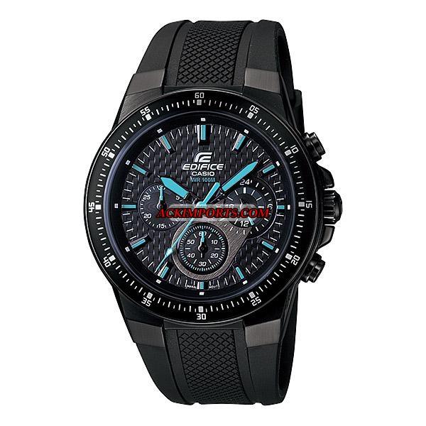 Relógio Masculino Casio Edifice EF-552PB-1A2V - Preto  - ACKIMPORTS