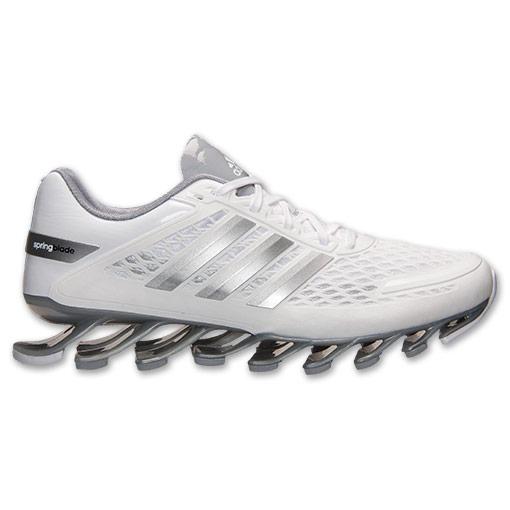 Adidas Springblade Razor - Branco e Prata  - ACKIMPORTS