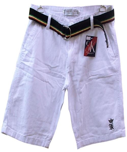 Bermuda Jeans Branca Sergio K Ref KKP  - ACKIMPORTS