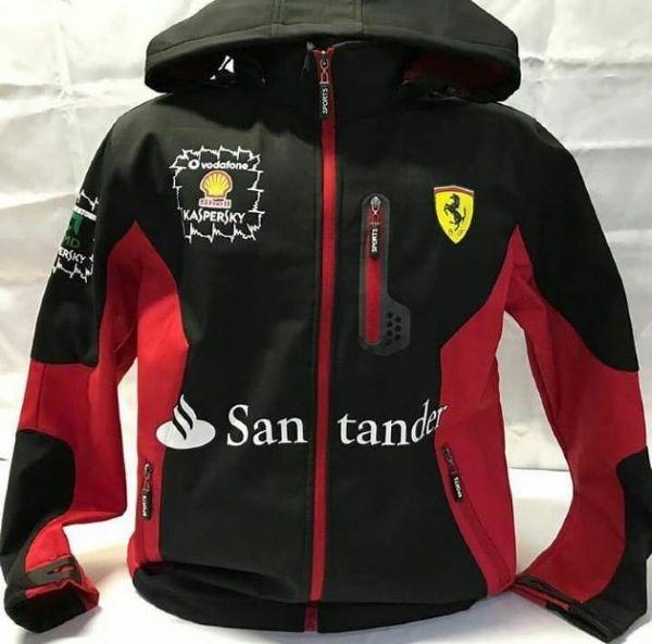 Blusa Da Ferrari Preta Online