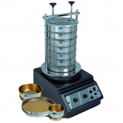 Agitador de peneiras eletromagnético  para análise granulométrica