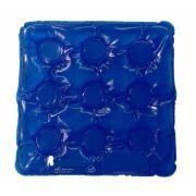 Almofada caixa de ovo azul quadrada sem orifício inflavel