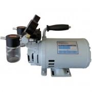 Bomba de vácuo e compressor para laboratório isenta de óleo