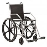Cadeira de Rodas Dobrável Com Pneu Maciço e assento em Nylon Jaguaribe modelo 1009