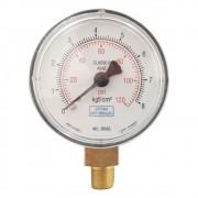 Manômetro para compressor de ar