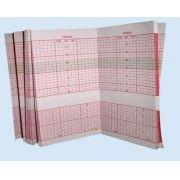Papel p/ cardiotocógrafo Toitu MT-516 5 blocos de 200 folhas