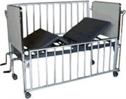 CAMA FAWLER INFANTIL LUXO COM GRADES DIMENSOES 150  X 70CM