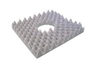 Almofada caixa de ovo quadrada c orifício