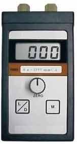 Manovacuômetro digital faixa de 0 a 600 mm/H2O
