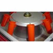 Porta tubo plastico (cacapa) para centrifuga de butirometros pacote com 24 unidades