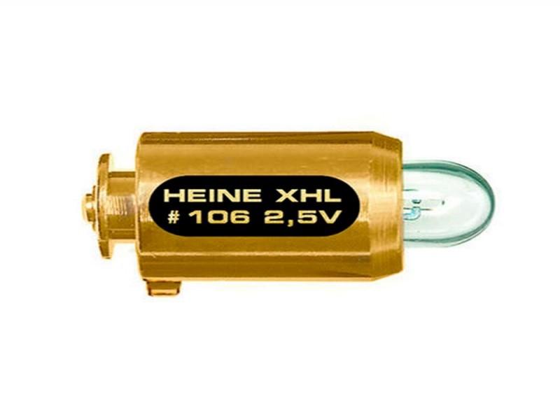 Lâmpada halógena XHL 2,5V para oftalmoscópio mini2000 HEINE X-01.88.106