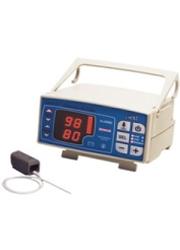 Oxímetro de pulso, com bateria recarregável e alarmes configuráveis, modelo OXP10 TRANSMAI