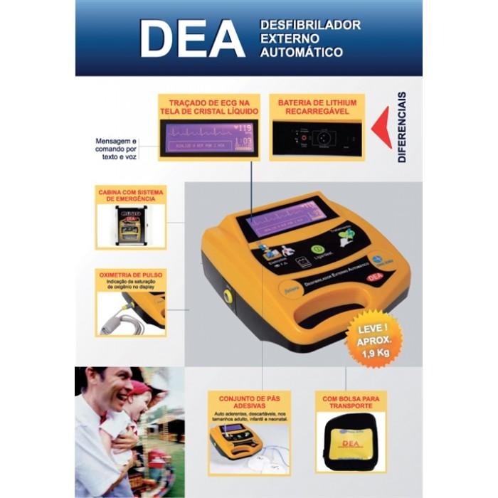 Desfibrilador dea life 400 CMOS DRAKE
