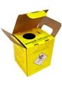 Suporte de parede para caixa coletora de material perfurocortante