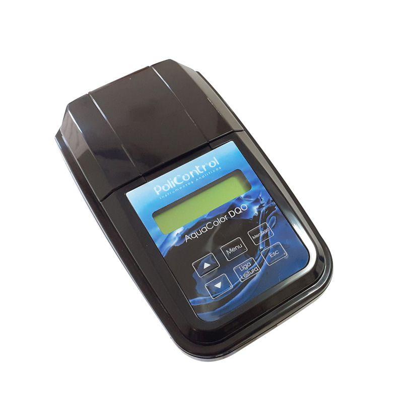 Análisador de DQO em efluentes industriais faixa 20 a 1500 mg/L