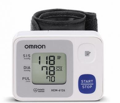 Aparelho De Pressão de Pulso Omron Hem 6124