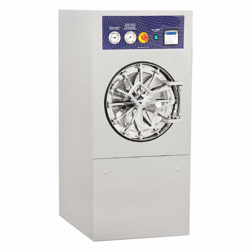 Autoclave horizontal hospitalar  100 litros  com impressora