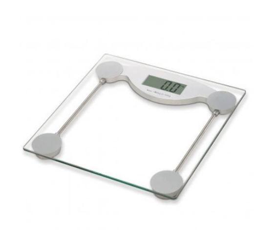 Balança digital plataforma de vidro capacidade 150kg