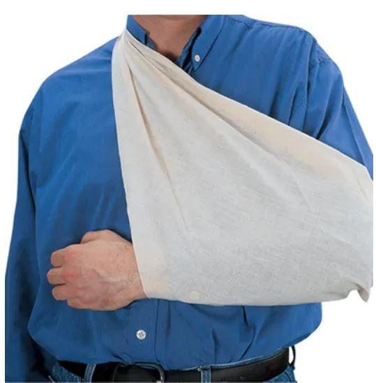 Bandagem triangular pacote com 5 unidades