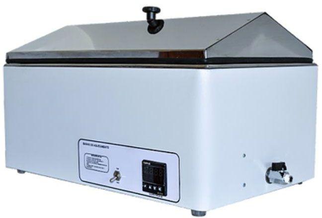 Banho Maria digital para laboratório com tampa