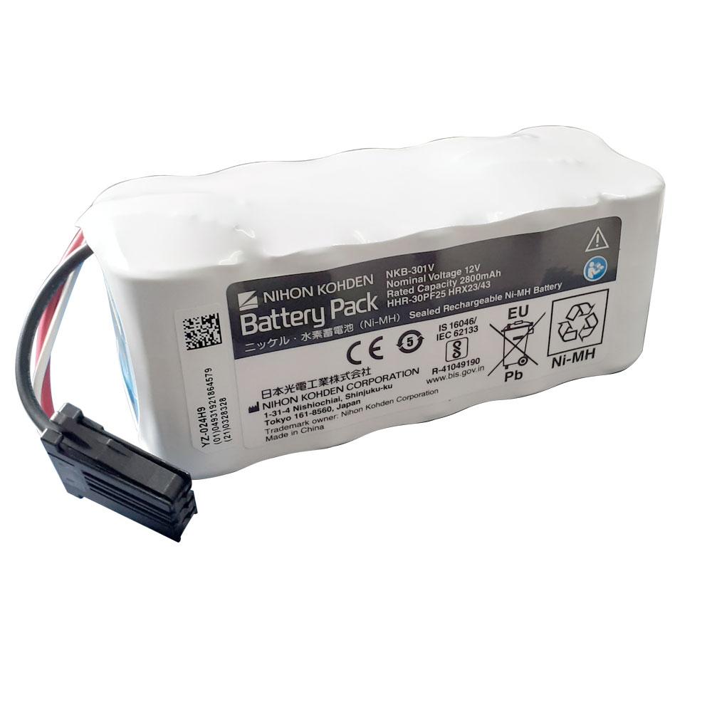 Bateria para desfibrilador Nihon Khoden NKB-301V