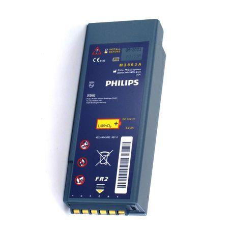 Bateria para desfibrilador Heartstart FR2 philips M3863A ORIGINAL