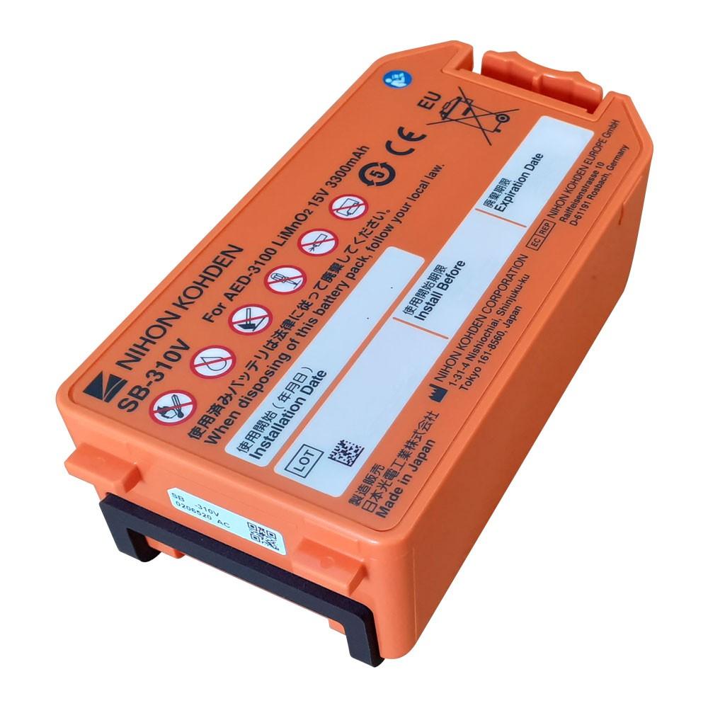 Bateria para desfibrilador Nihon Kohden Cardiolife AED – 3100