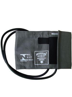Bracadeira de Nylon/ velcro com manguito de duas vias PNI