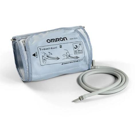 Braçadeira Para Medidor De Pressão OBESO Omron Cinza Hem-Cl24