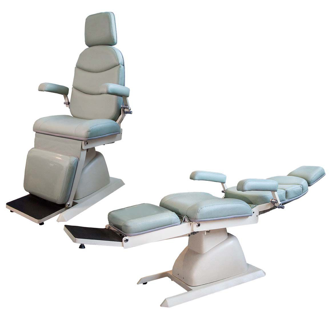 Cadeira de otorrino/ oftalmo elétrica