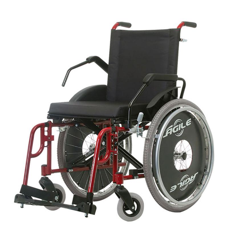 Cadeira de Rodas capacidade 130 kg  modelo Ágile Fat