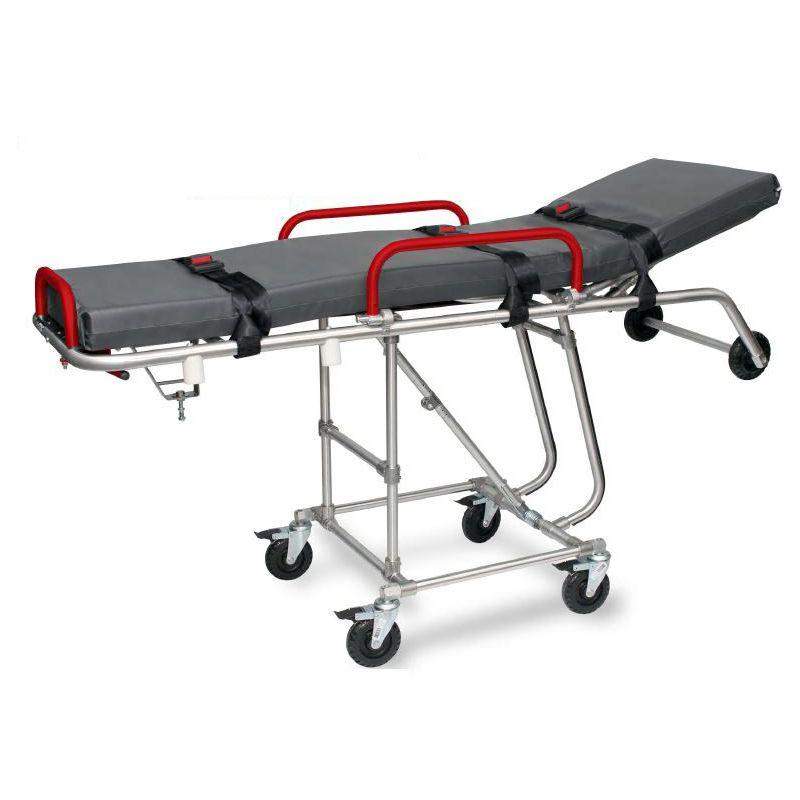 Carro Maca Hospitalar retratil  em aluminio
