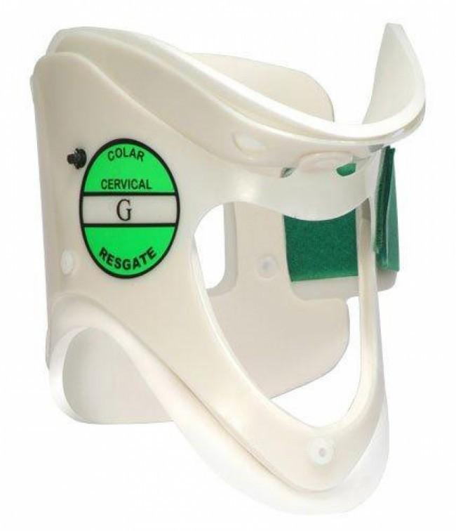 Colar cervical de resgate de emergencia com apoio mentoniano