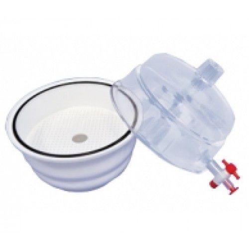 Dessecador policarbonato transparente 230mm com torneira