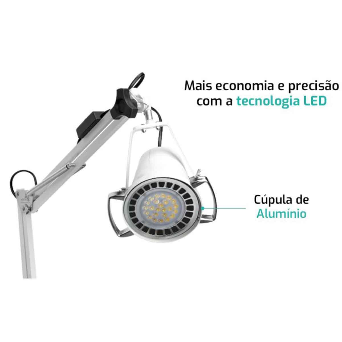 Foco clínico luz concentrada LED