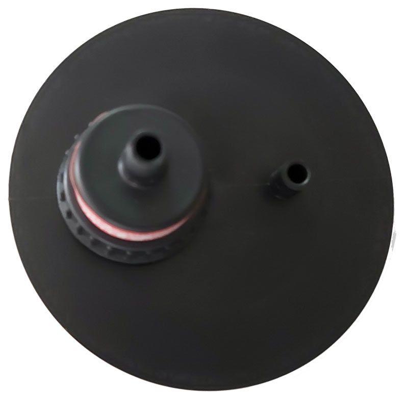 Frasco para aspirador cirúrgico 3250 ml, graduado, com tampa