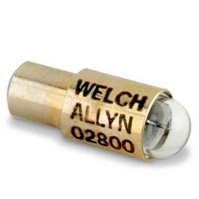 Lâmpada  02800  2,5 v P/ Oftalmoscópio 19090 Welch Allyn