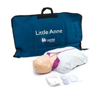 Manequim de treinamento Little Anne QCPR