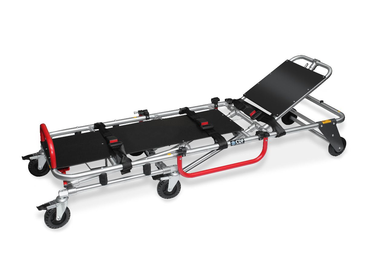 Maca retratil para ambulancia  em aluminio