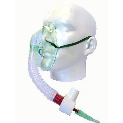 Mascara de oxigenio ajustável  tipo venturi