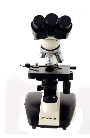 Microscópio Biológico Binocular, LED