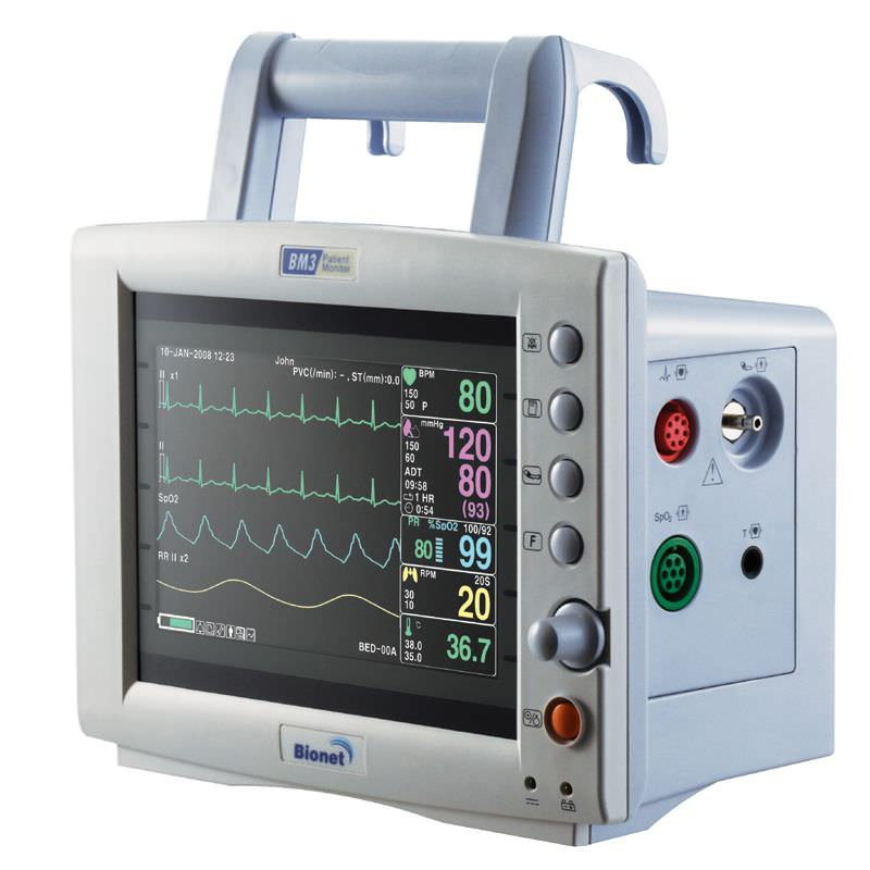 Monitor de Sinais Vitais Multiparamétrico - BM3 - BIONET