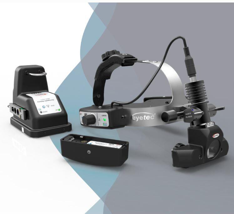 Oftalmoscopio binocular indireto c/ bateria LED