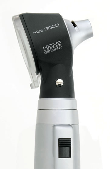 Otoscópio Mini 3000 2.5v Preto - Heine
